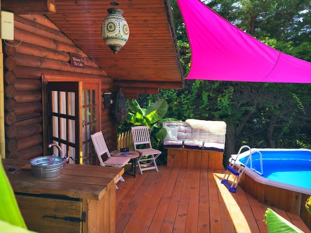 Romantic Private Cabin: MarbellaBB - Estepona - Srub
