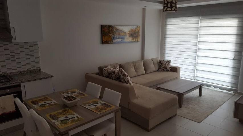 Emerald Park apartment with sea and pool view - Alanya - Lägenhet
