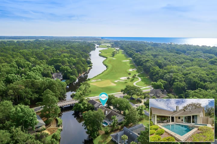 2 Rum Row - Beautiful Palmetto Dunes Home with Lagoon Views