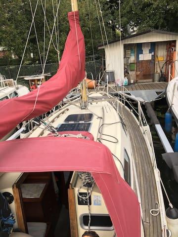Nära vatten och möjlighet att segla i Stockholm