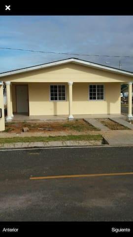 Alojamiento Seguro y Cerca De Todo - Chitré - Casa
