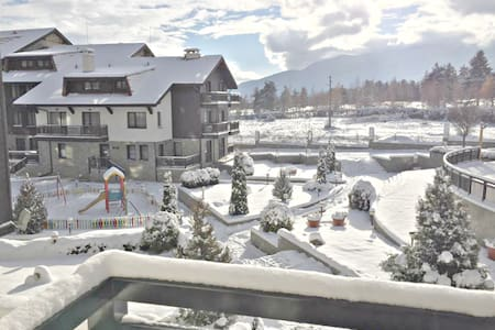 Relaxing Spa, Ski and Golf Studio in the Mountains - Razlog - 公寓