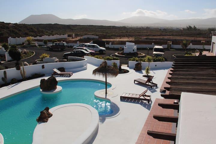 Villa la Senda del Majo, Antigua Fuerteventura - Antiga - Casa de camp