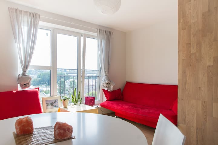 Bright and cute apartaments - Vílnius - Pis