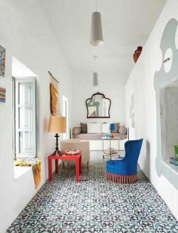 Casa Caracol. Una casa con vistas al mediterraneo