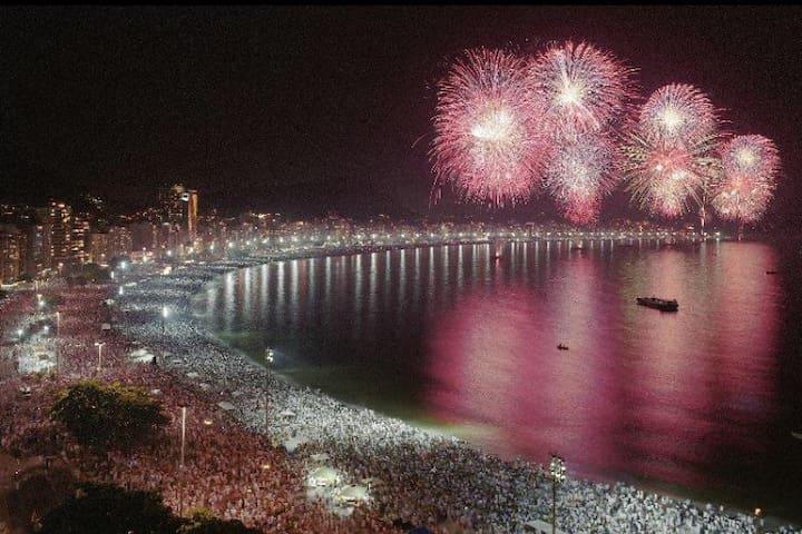 ATLANTICA,COPACABANA, BELLTEMPORADA - Rio de Janeiro - Appartamento