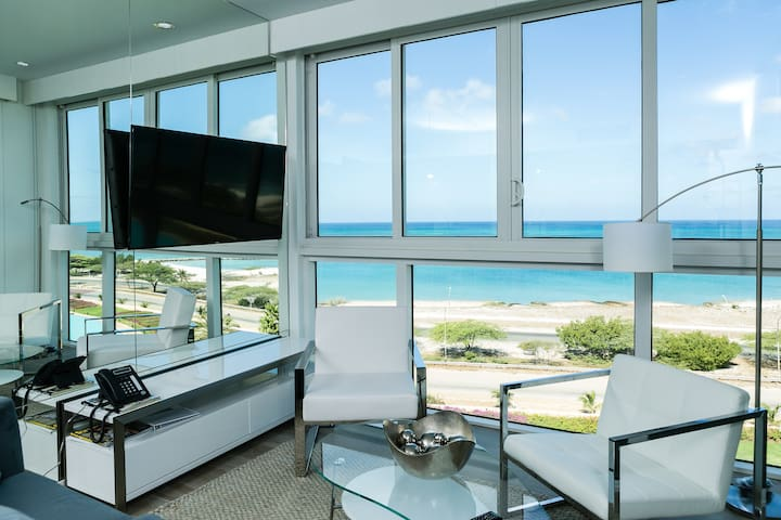 On this beach apartment, you can live in bliss!