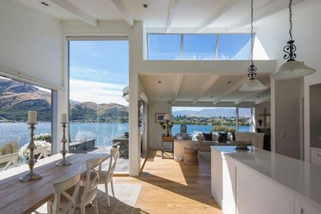 Stylish Sun-filled Luxury Home on Lake, 5 Stars