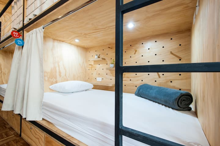 Individual Pod at Boutique Hostel