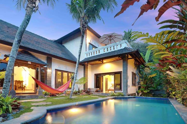 3 bedroom villa in tranquil locale