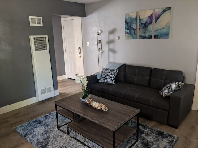Remodeled apartment at w St