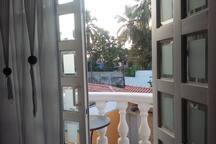 Your private balcony - balcón privado dentro del estudio