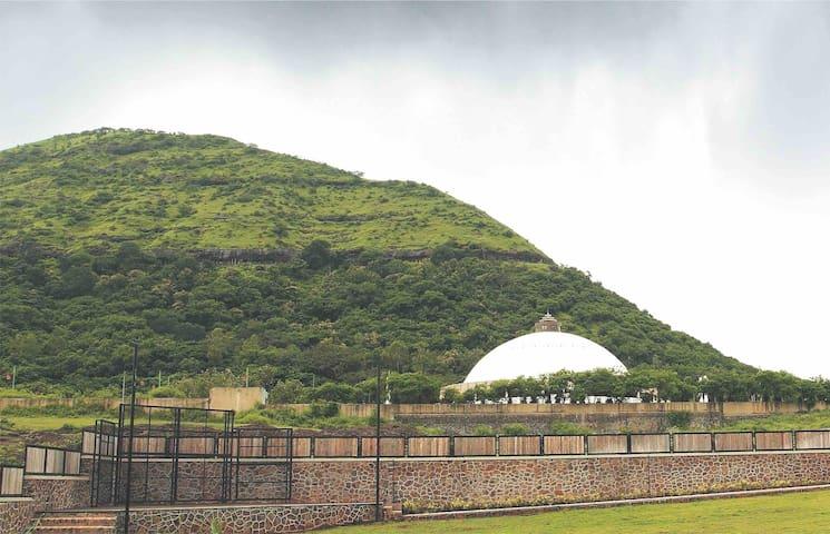Mountain view Villa 03 at foothills of Pandavleni