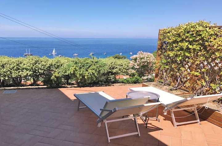 Villa Golfo, Elba island, with unique sea view