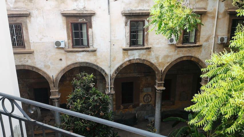 Affascinante bilocale in pieno centro a Palermo - Palermo - Apartment