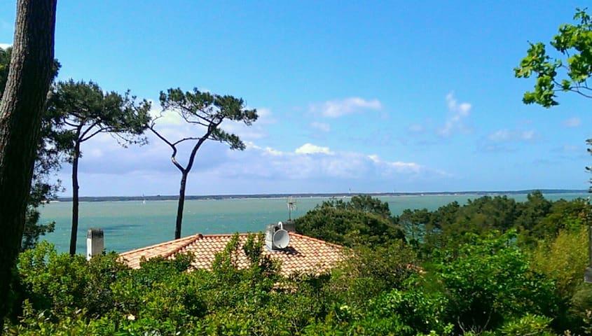 Villa mit Meerblick Pyla sur Mer nahe La Corniche