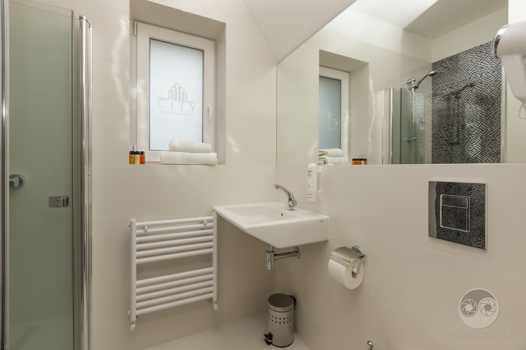 Apartament Skandynawski - łazienka
