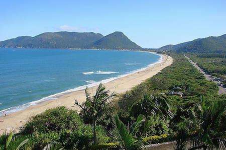 Studio 180 ms de maravilhosa  praia. - Florianópolis