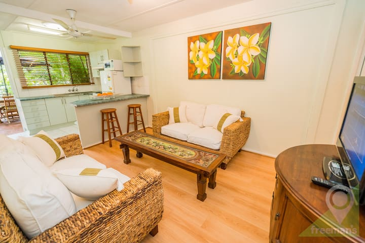 1 street off the beach in Palm Cove - Palm Cove - Apartment