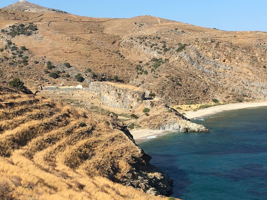 ...next to the hidden archeological site of ancient Karthea, a totally unspoiled mystical place, only 500m away.