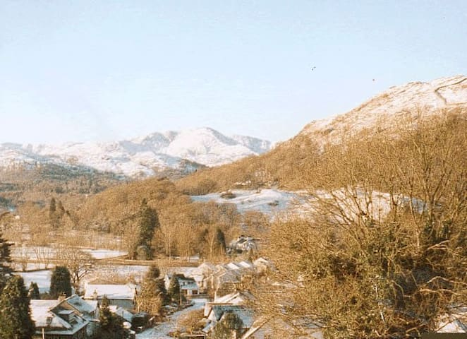 View from Cottage in Winter