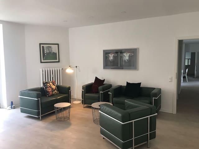 Moderne Wohnung im Altbau Haus direkt in der City