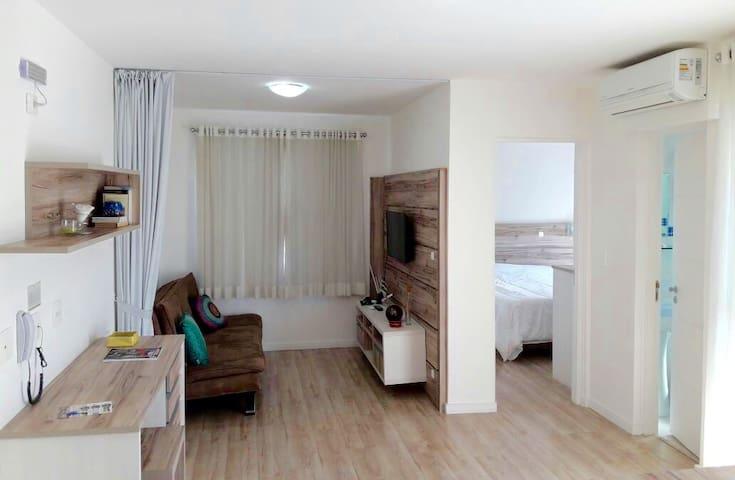 Flat Aconchegante II Centro Curitiba - 1101 - Curitiba - Obsługiwany apartament
