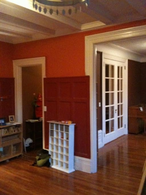 living/dining room other view