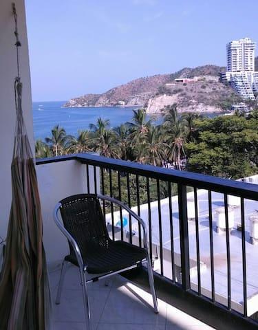 Disfrute del Caribe, Playa y Sol. - El Rodadero, Santamarta - Apartment