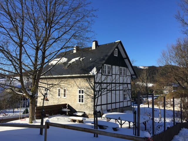Charming house in idillic village - Olsberg