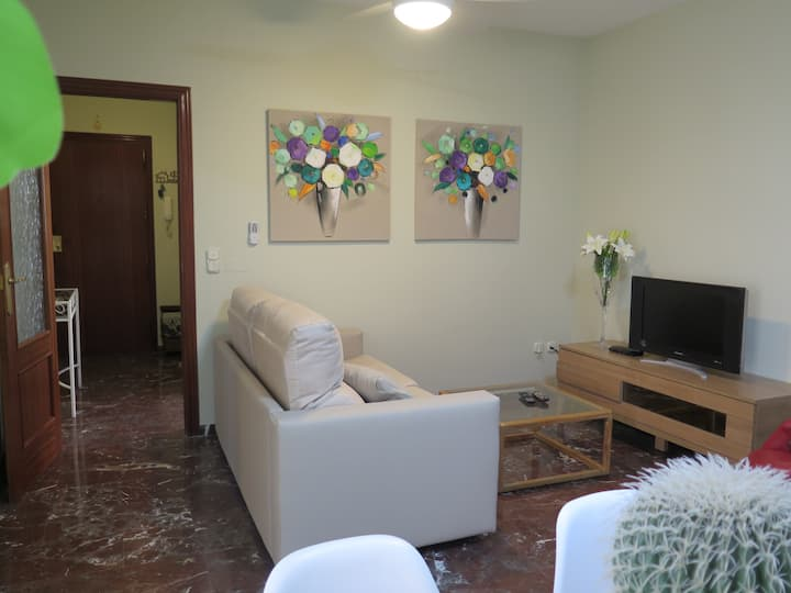 Apartment with parking in the center of Antequera