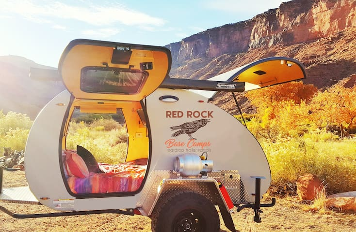 Red Rock Teardrop Trailer #1 - Moab - Karavan