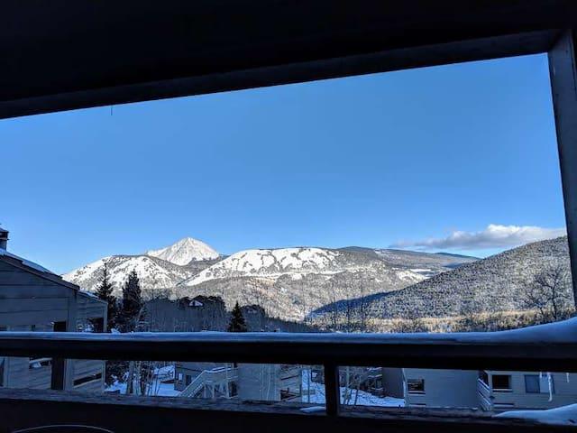 View of West Spanish Peak