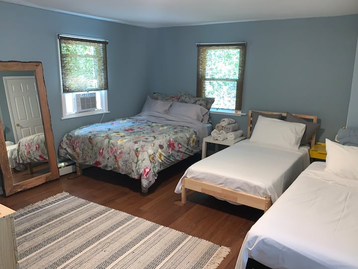 Guest Room in Asbury Park home