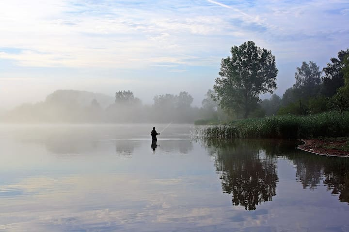 30 minutes by car: The Cardinia Reservoir Park is a perfect place for local fishing experiences as well. Get in early morning and fish away. However, eating your catch is not advised.