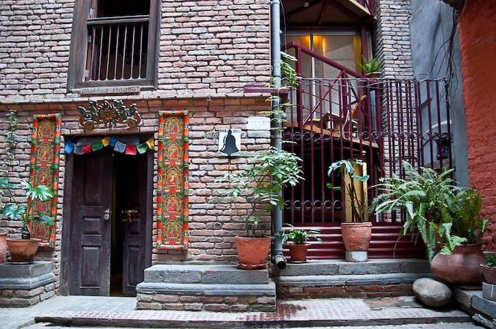 Dhakwha house entrance