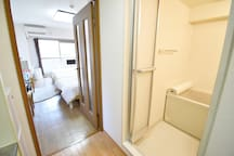 Center of Kyoto. Close to station. 3 beds.