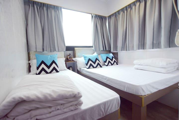 MK MTR:Family Hotel for 3 ppl-Kingland apartment
