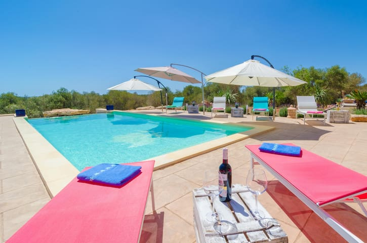 CAN XESQUET - Villa for 6 people in Ses Salines.