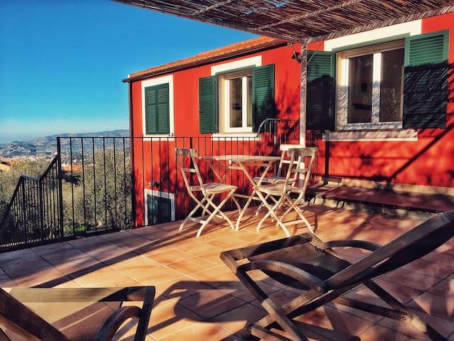 Relax negli olivi Casa Novaro Imperia, app. Limone
