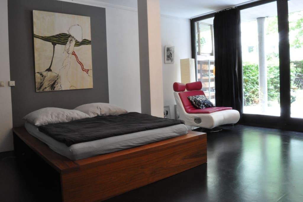 Zimmer 1 Doppelbett