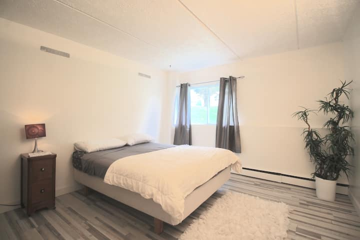 2 bedrooms apartment, NORTH Sherbrooke, balcony