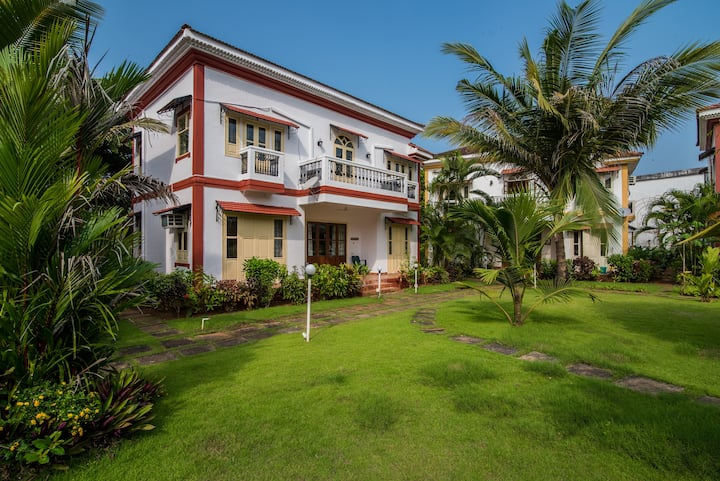 4 BHK Villa with Swimming Pool in Goa