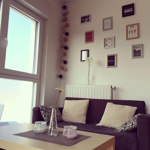 Appartement Lumineux et Chaleureux, Ile de Nantes. - Nantes - Apartment