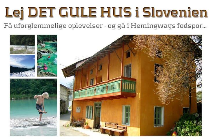 Det Gule Hus - 180 km fra Venedig - Kamno - Rumah