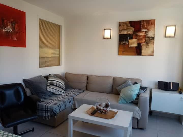 Appartement T2 cabine , TOUT CONFORT, bien équipé