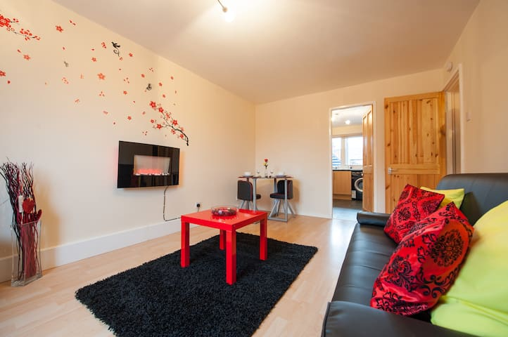 Dreamer's Delight – City Centre Apartment - Loughborough - Apartemen