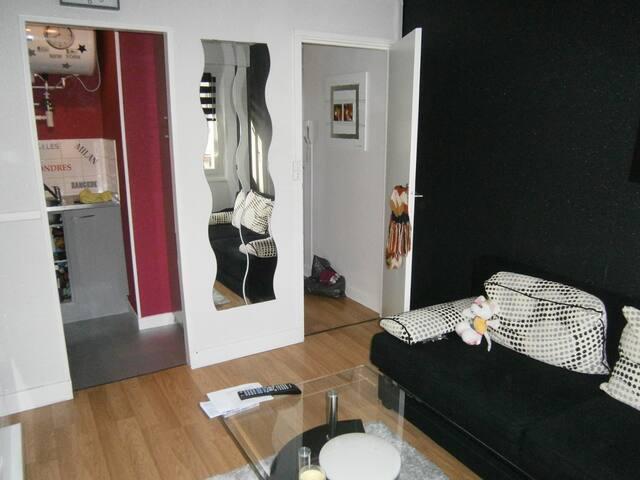 studio à 100 mètres de la plage - Le Portel - Apartemen