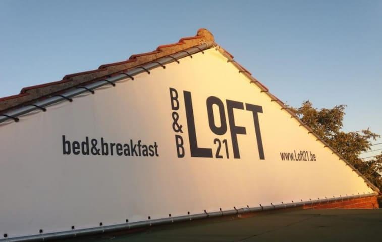 B&B Loft21,vrijstaand guesthouse met buitenkeuken