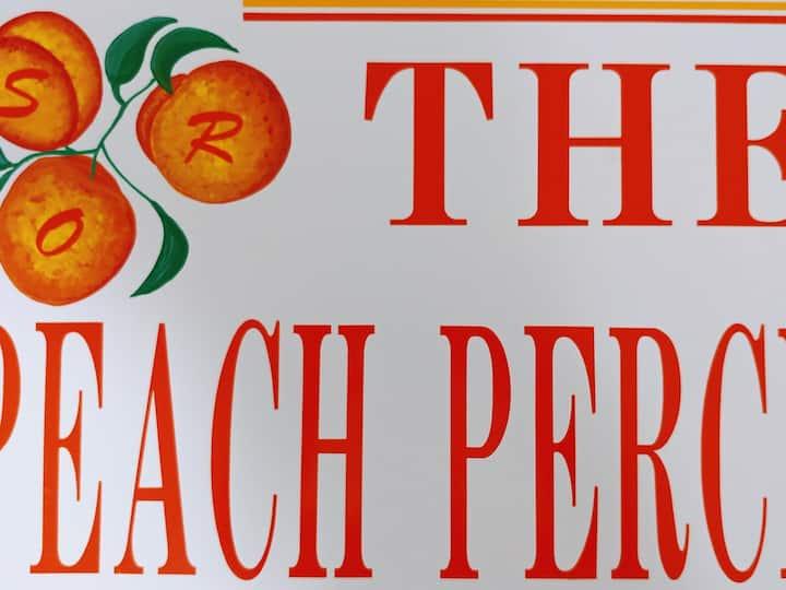 The Peach Perch: private bed/bath in basement